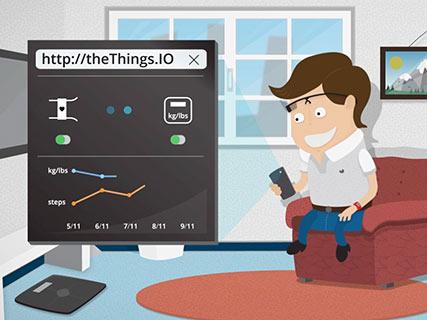 video theThings io IoT Internet Of Things barcelona